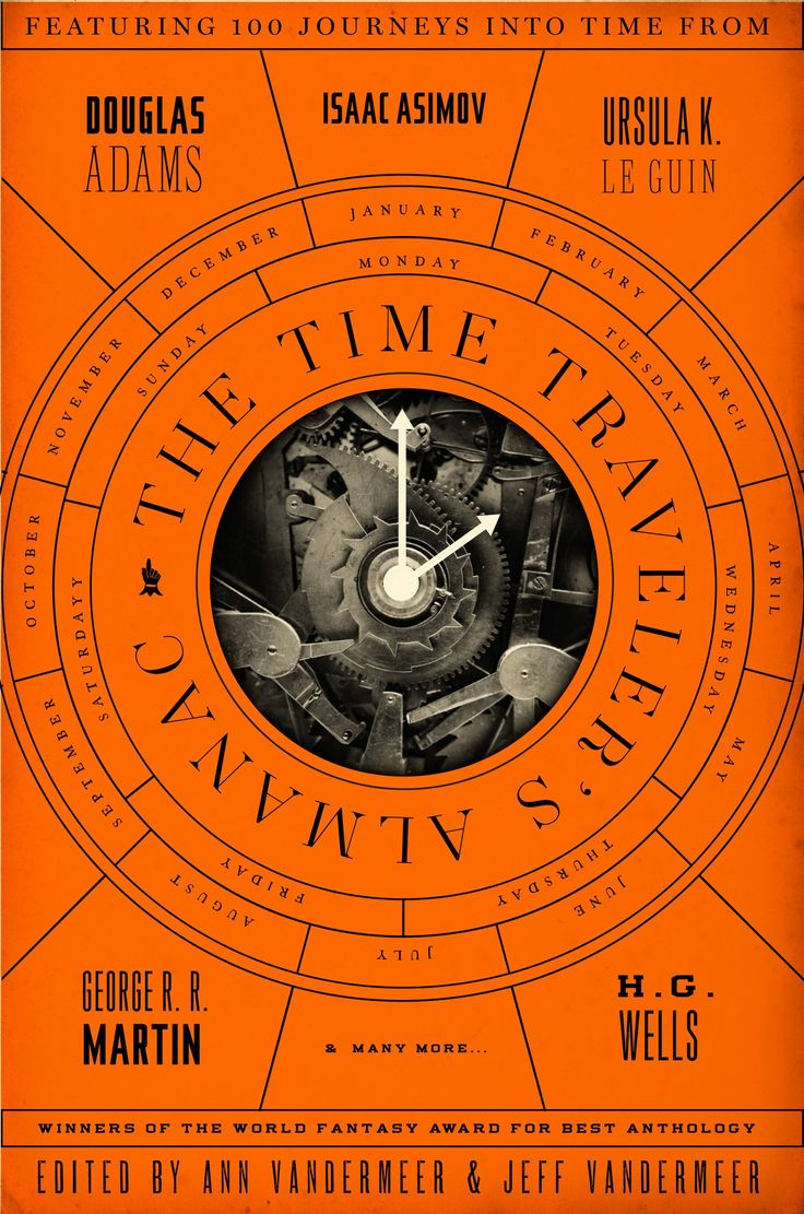 The Time Traveler's Almanac Cover Design By Will Staehle (tor