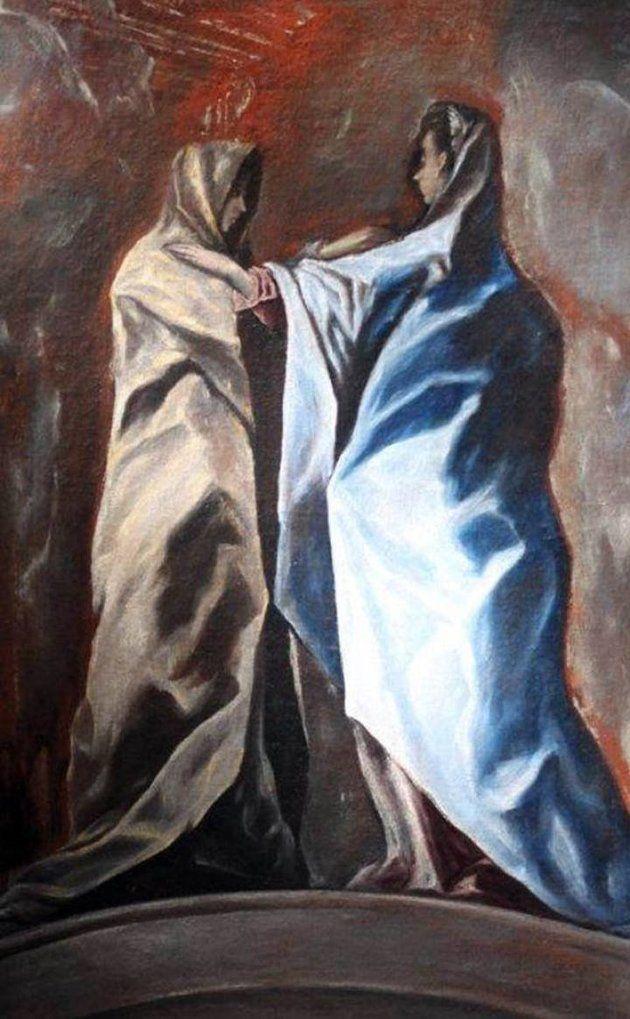 Λίγοι τυχεροί δημοσιογράφοι ήταν εκείνοι που είχαν την τύχη να δουν την Τρίτη 9 Ιανουαρίου για πρώτη φορά τη «(Θεία) Επίσκεψη», έναν πίνακα που φέρεται να έχει φιλοτεχνήσει ο Έλ Γκρέκο για το παρεκ…