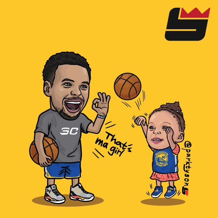 Warriors Come Out And Play Golden State: PARK TYSON — Like Father, Like Son.
