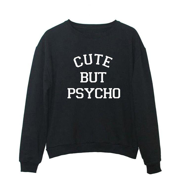 Women Graphic Cute Sweaters Funny Pullover Teen Girls Sweatshirts - Black - CJ187CE0WY9 3