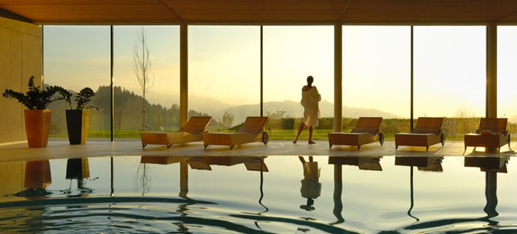 Wellnesshotel Linde:The Wellnesshotel Linde spoils you with a Sunset SPA, a spacious swimming pool with panorama view, outdoor whirlpool, adventure sauna world, health and beauty department, fitness area, sunbathing lawn and much more. Wellness hotel in Sulzberg/Bregenzerwald in Vorarlberg #visitvorarlbeg #myvorarlberg