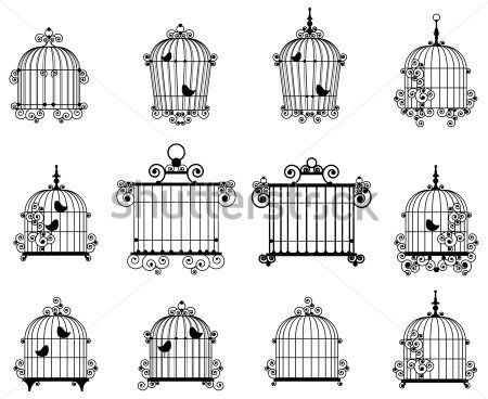 Изобр по > Клетка Для Птиц Клипарт