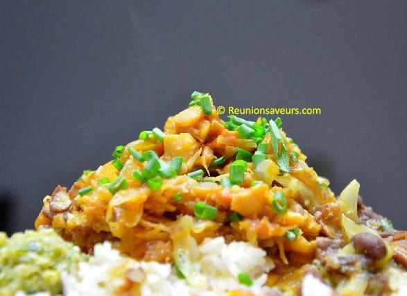 Recette de cuisine : Rougail morue créole de la Réunion
