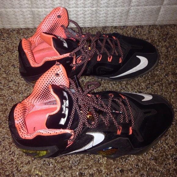 Nehmen Billig Schuhe Rot Billig Deal Lebron 13 25k Custom Graphic