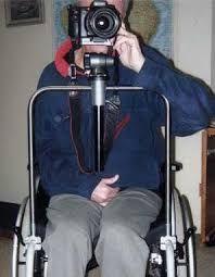 Výsledok vyhľadávania obrázkov pre dopyt camera holder with wheelchairs