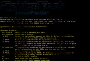 SpiderFoot v2.10 – is an open source intelligence automation tool.