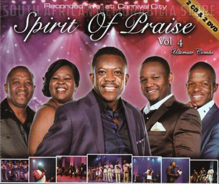 SPIRIT OF PRAISE 4 - Benjamin Dube - South African Gospel Double CD DVD *New*