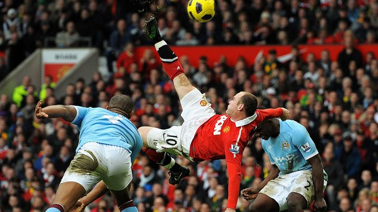 Record-breaking Wayne Rooney's Top 10 goals for Manchester United