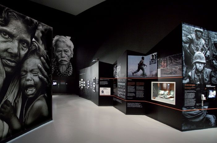 """Shaped by War: Photographs by Don McCullin"" at Imperial War Museum North."