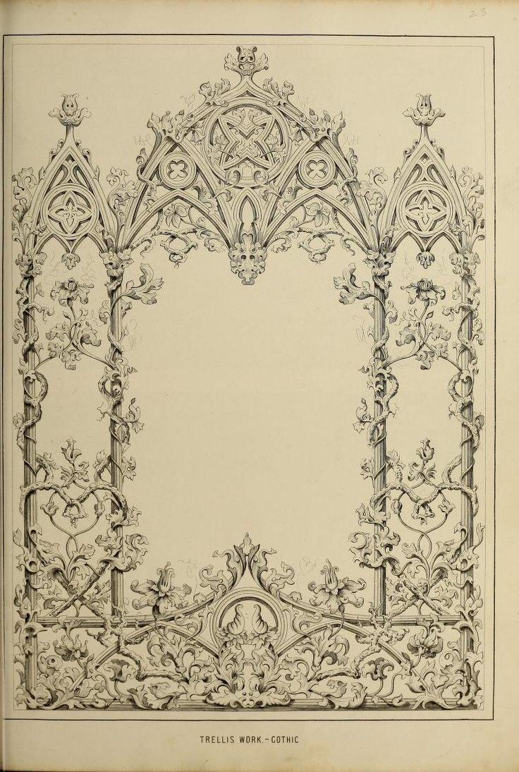 The Tradesmans Book Of Ornamental Designs Victorian
