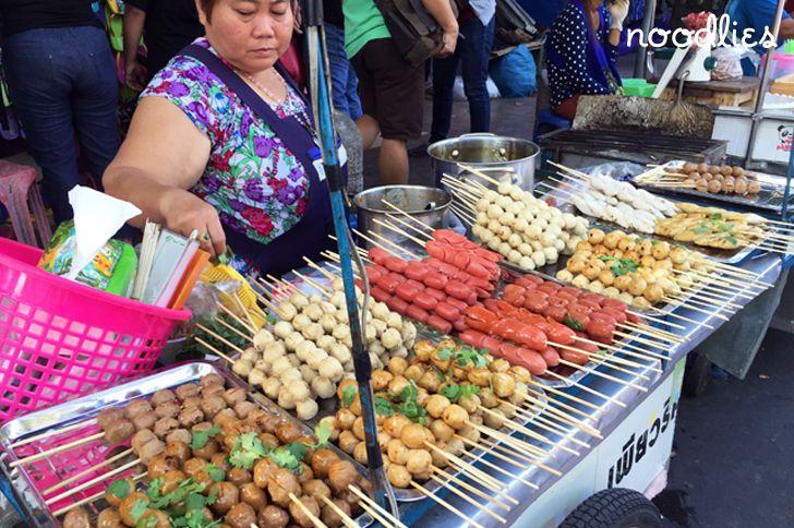 Chatuchak market bangkok food