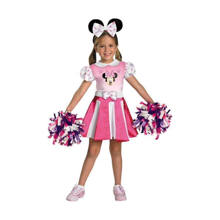 Halloween Minnie Mouse Girls' Costume Mickey Mouse Clubhouse - Medium (7-8), Size: M(7-8), Variation Parent