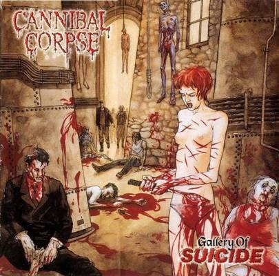 Cannibal Corpse's album cover: Gallery of Suicide