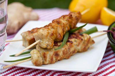 Kurczak z grilla w marynacie imbirowej