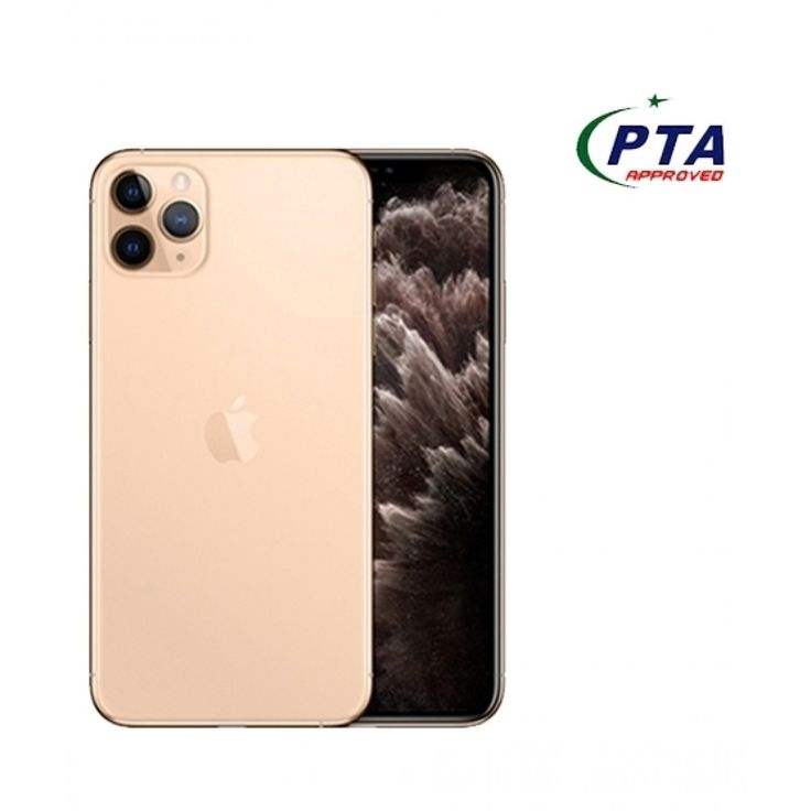 Apple iphone 11 pro max 64gb dual sim gold official