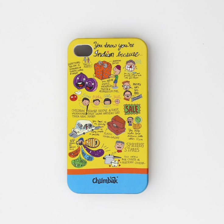 YOU KNOW YOU ARE INDIAN IPHONE 4/4S CASE - IPHONE CASES - TECH ACCESSORIES :: Chumbak