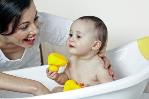 """""""Two chemicals considered harmful to babies remain in Johnson & Johnson's baby shampoo sold in the U.S. and some other countries, even though the company already makes versions without them. . ."""" """"The campaign's May 2009 report, called 'No More Toxic Tub,' stated that studies by an independent laboratory it hired, Analytical Sciences LLC, found that 1,4-dioxane was contained in Johnson & Johnson's Baby Shampoo, Oatmeal Baby Wash, Moisture Care Baby Wash and Aveeno Baby Soothing Relief Creamy…"""