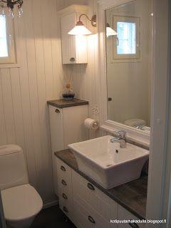 Koti Puutarhakadulla: WC remontti 2013