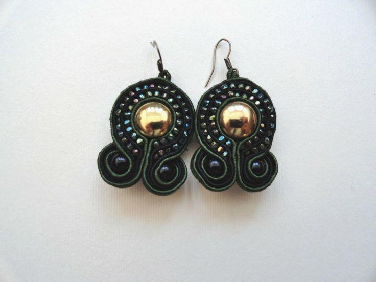 Kolejne sutaszowe kolczyki - another soutache earrings