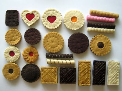 Felt cookies by DusiCrafts