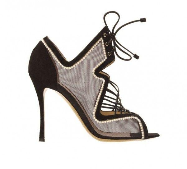 Ankle boot Nicholas Kirkwood con nastri