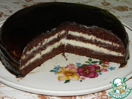 """Безумный торт """"Сrazy cake"""" - кулинарный рецепт"""