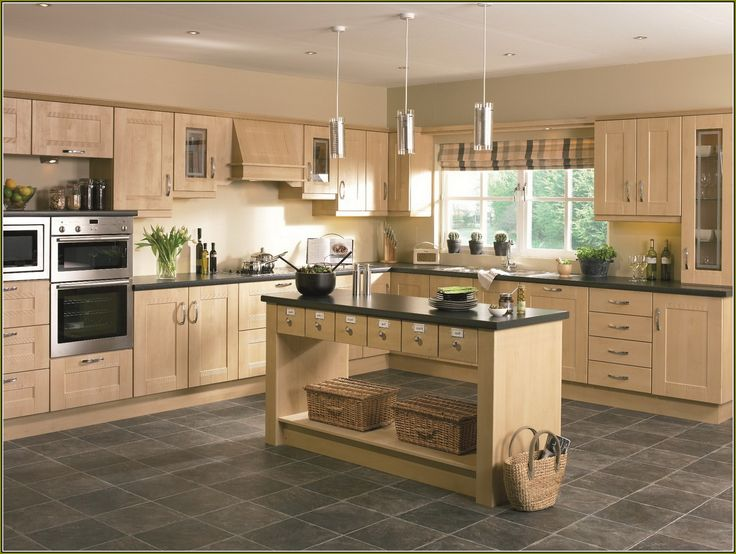 light birch kitchen cabinets - Birch Kitchen Cabinet