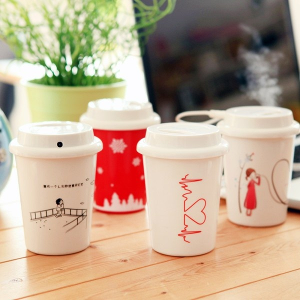 三年二班●创意家居韩版时尚迷你静音杯子造型USB加湿器