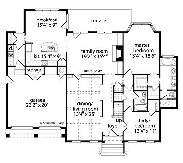 Best 11 planl sningar images on pinterest cottage for Southern living cape cod house plans