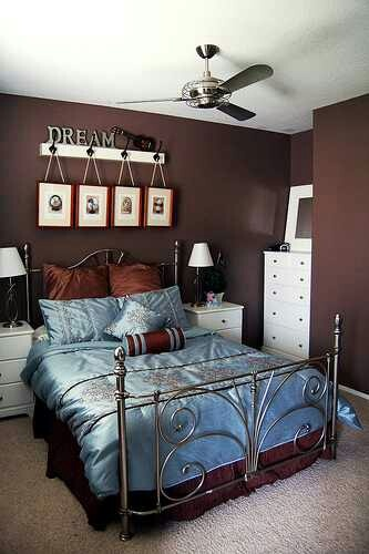51 best red pink white and black baby shower ideas for Brown blue bedroom ideas