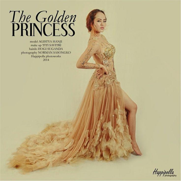 the golden princess, fashion shoot