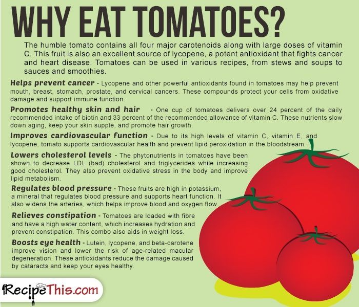 Cooking Tips Podcasts   Why Eat Tomatoes from RecipeThis.com
