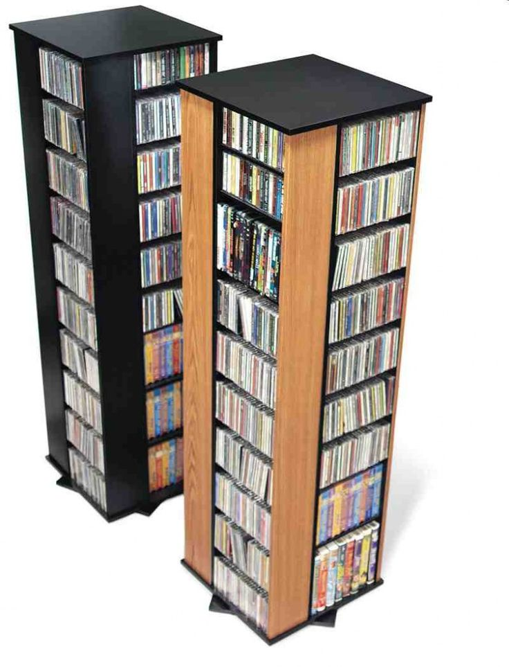 Large DVD Storage Cabinet