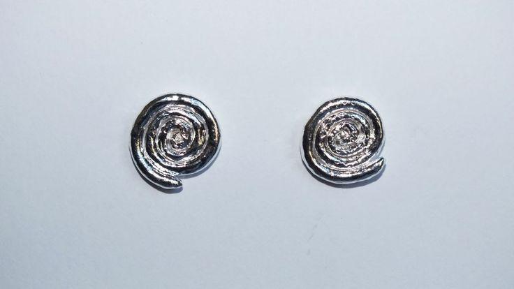#handmade #earrings #in #silver #elegance #jewelry #fine #jewelry #spirals  www.facebook.com/gioiellifenzl