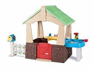 Amazon.com: Little Tikes Deluxe Home and Garden Playhouse: Toys & Games