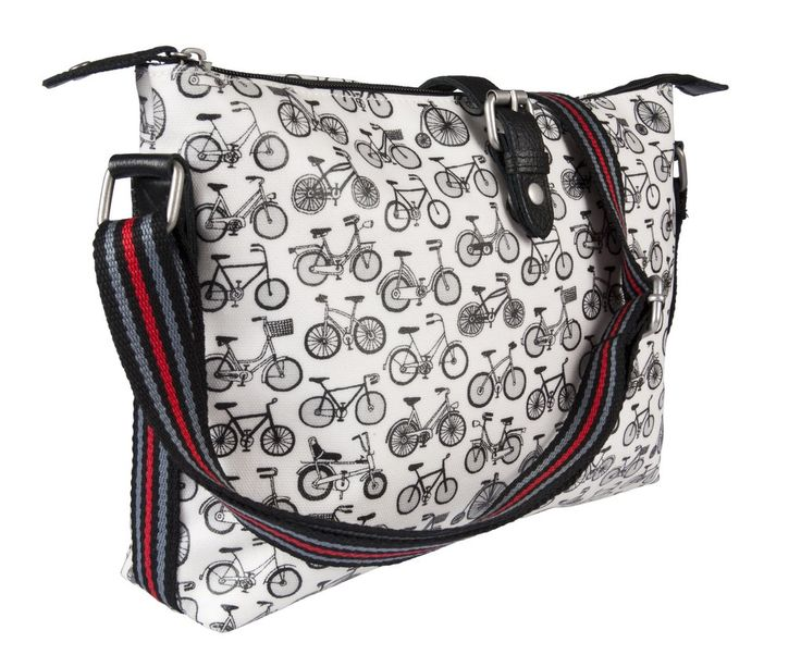 Nicky James Bags: Crossbody Day Bag: Bicycles