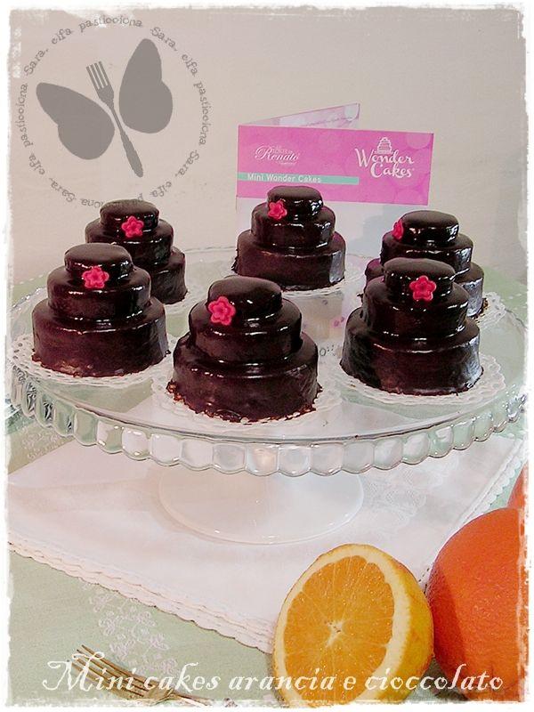 Mini cakes arancia e cioccolato, ricetta dolce