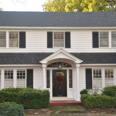 Colonial Home, Exterior Paint Design Ideas, Pictures, Remodel, and Decor - page 4