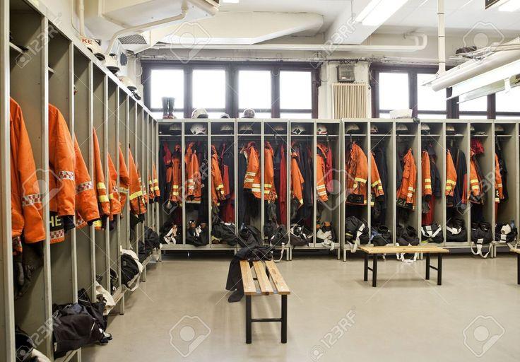 firemen dressing room - Google Search