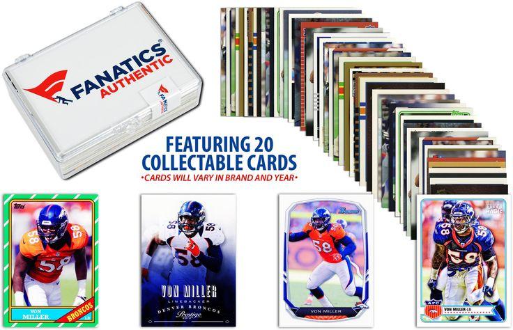 Von Miller Denver Broncos 49ers Collectible 20 Card Lot