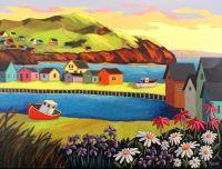 Couleurs des Iles de la Madeleine by Louise Marion