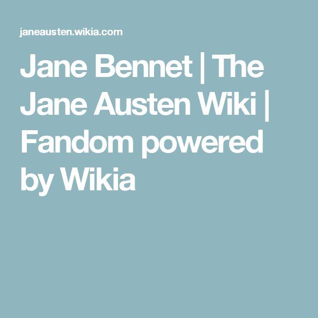 Jane Bennet | The Jane Austen Wiki | Fandom powered by Wikia