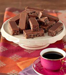 Cadbury Milk Chocolate Coconut No-Bake Slice Recipe