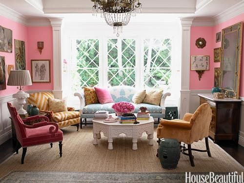 """""""I try to mix it up,"""" says designer Windsor Smith of her L.A. home. """"I want a sense of history, but balanced with approachability."""" -designer Windsor Smith"""