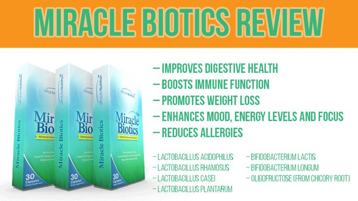 Miracle Biotics Review: Probiotics and Prebiotics for Digestion, Immunity and Weight Loss