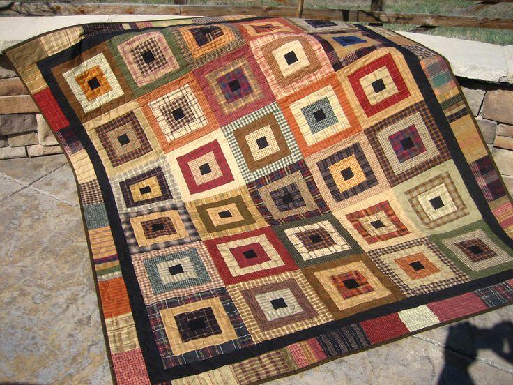 27 best Homespun quilts images on Pinterest | Quilt patterns ... : handmade quilts ideas - Adamdwight.com