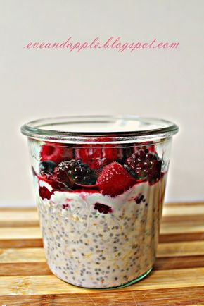 1 kis doboz erdei gyümölcsös light joghurt  1 joghurtos doboz tej  1 joghurtos doboz zabpehely  1 ek juharszirup  0,5 kk fahéj  2 kk c...