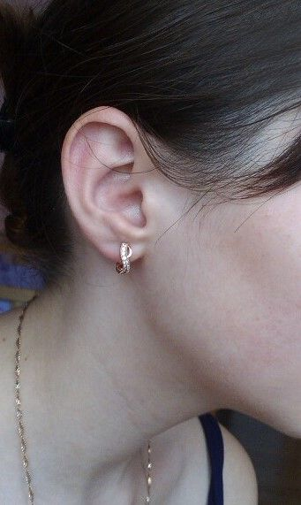 Cute Luxury Charm Infinity Earrings   Visit our shop www.8-jewelry.com