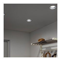 IKEA - HÄGGUM, Recessed spotlight, , You can use the spotlight in just about every room, even outdoors and in the bathroom.