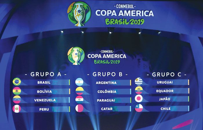 Copa America 2019 Teams Groups Jerseys Fixtures Schedule America Brazil News Copa America 2016